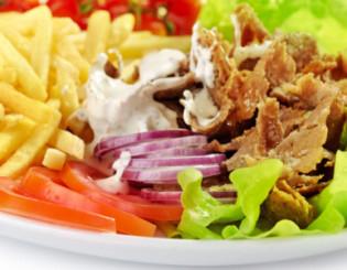 kebabtellerpommes